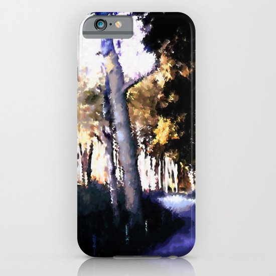 Hiking on the Coast. iPhone & iPod Case