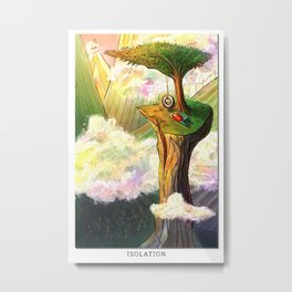 Blissful Isolation Metal Print