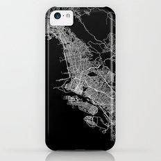 oakland map california Slim Case iPhone 5c