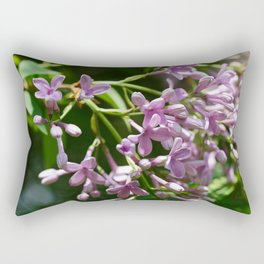 Syringa vulgaris Rectangular Pillow