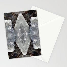Diamond Ice Jewels Nature Image by Deba Cortese Stationery Cards