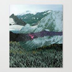 Experiment am Berg 15 Canvas Print