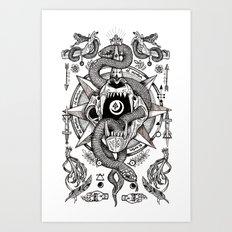 Ad Mortumn Art Print