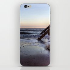 Withernsea Groynes at Sunset iPhone & iPod Skin