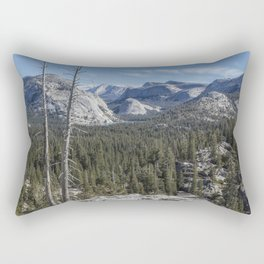 The North View Towards Tenaya Lake from Olmsted Point Rectangular Pillow