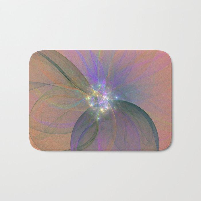 Fairy Blossom Fractal Bath Mat