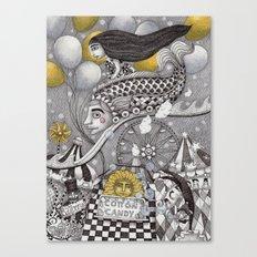 Roller Coaster Ride Canvas Print