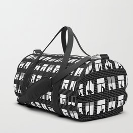 Feline Towers Duffle Bag