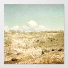 The Beginning Sleeping Bear Sand Dunes Canvas Print