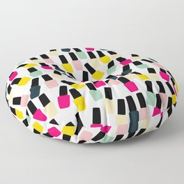 Cute Nail Polish Floor Pillow