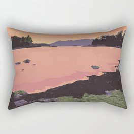 Pacific Rim National Park Reserve Rectangular Pillow