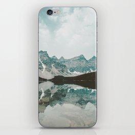 Moraine Lake Mountain Reflection Summer iPhone Skin