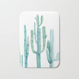 Cacti Fam Turquoise Bath Mat