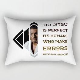 BJJ Motivational Quote Series 2/10 Rectangular Pillow