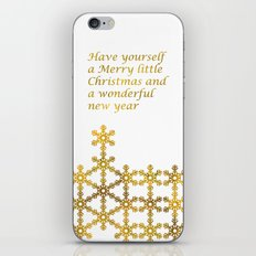 Merry Christmas to you - Holidaze iPhone & iPod Skin