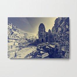 Ancient Temples Metal Print
