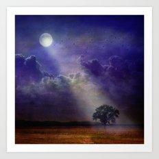 Moonlight. Art Print