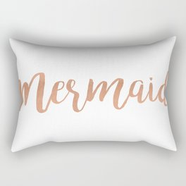 Mermaid Copper Rectangular Pillow