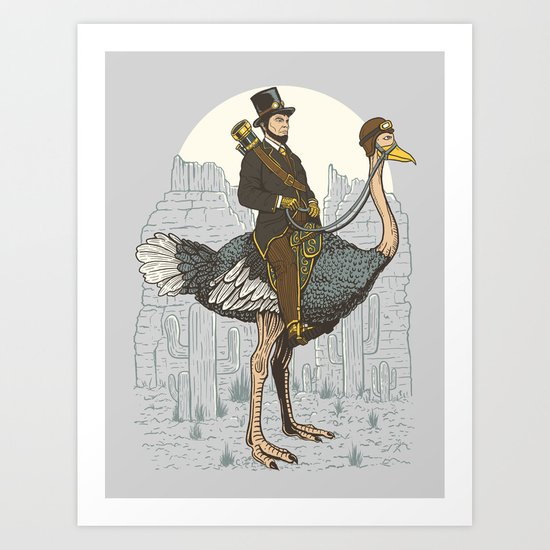 The Lone Ranger Art Print