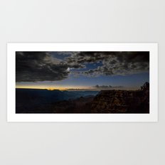 Grand Canyon National Park - Stars at South Rim Art Print