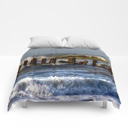 Rough Seas Comforters