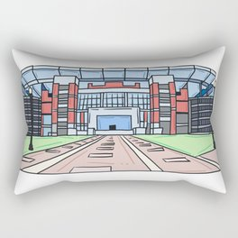 Home of Champions Rectangular Pillow