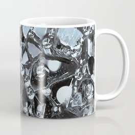 Dark Mirror and Glass Coffee Mug