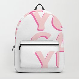 Yes You Can Hardworker and Optimistic Gift Backpack