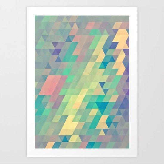 pystyl xpyss Art Print
