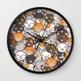 Funny Cats Wall Clock