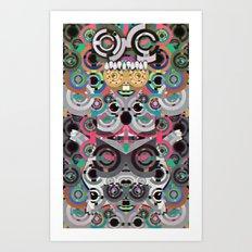 KiNG KoALA Art Print
