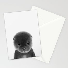 Cute Otter Stationery Cards