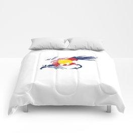 Colorado Fly Fishing Hook Flag River Men Comforters