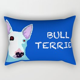 Bull Terrier Rectangular Pillow
