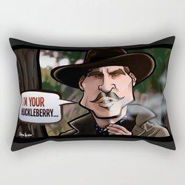 I'm Your Huckleberry (Tombstone) Rectangular Pillow