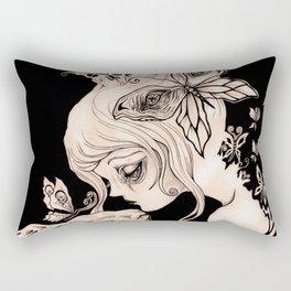 Alice Dreaming Rectangular Pillow