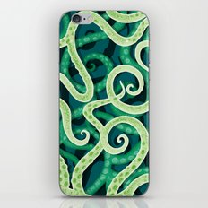 Cephalopod Soup iPhone & iPod Skin