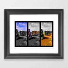 Amarillo Pop Framed Art Print