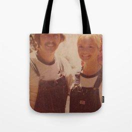Mom and dad honeymoon Tote Bag