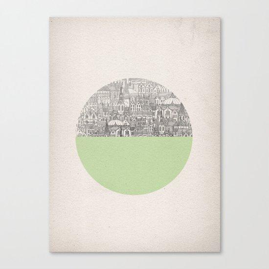 Circle Canvas Print