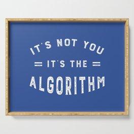 Blame the Social Media Algorithm Serving Tray