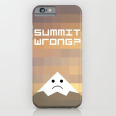 summit wrong? iPhone 6s Slim Case