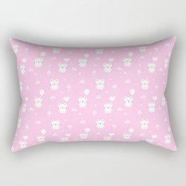 Baby Teddy Cats Rectangular Pillow