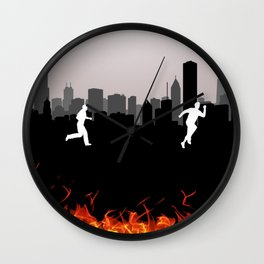 Sinner on the loose Wall Clock