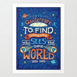 Same World Art Print