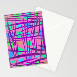 Abstract 90 PF Stationery Cards