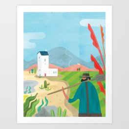 Laying the Lands (Society 6 - ...