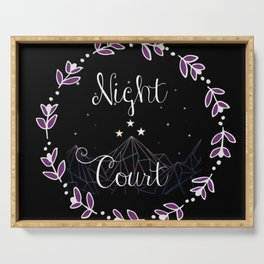 Starry Night Court Serving Tray