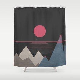 Minimal Sunset 10 Shower Curtain