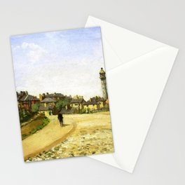 Upper Norwood Chrystal Palace London 1870 By Camille Pissarro | Reproduction | Impressionism Painter Stationery Cards